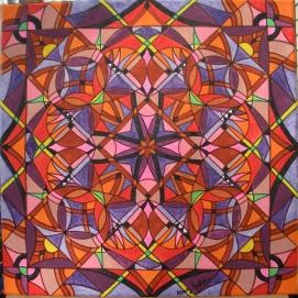 """""""Susan"""" 12 x 12 acrylic on canvas, $125"""